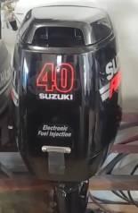 Suzuki. 40,00л.с., 4-тактный, бензиновый, нога S (381 мм), 2007 год год