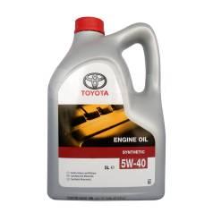 Toyota. Вязкость 5W-40, полусинтетическое