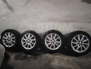"""Продам оригинальные диски Toyota Alllion Premio 260 на зиме Maxxis. 6.0x16"""" 5x100.00 ET45"""
