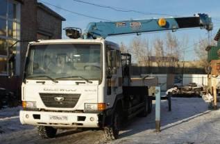 Daewoo Novus. Продается грузовой автомобиль Daewwo Novus с крановой установкой, 10 964куб. см., 15 000кг., 6x4