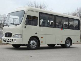 Hyundai County. Продаётся автобус Hyundai county, 18 мест, С маршрутом, работой