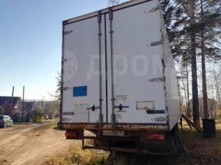 Ackermann. Полуприцеп фургон Fruehauf, 33 000кг.