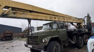 ВС-22 на базе ЗИЛ 131, 1986. Автовышка ВС-22 на базе ЗИЛ 131, 22,00м.
