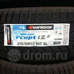 Hankook Winter i*cept IZ2 W616. Зимние, без шипов, без износа, 1 шт