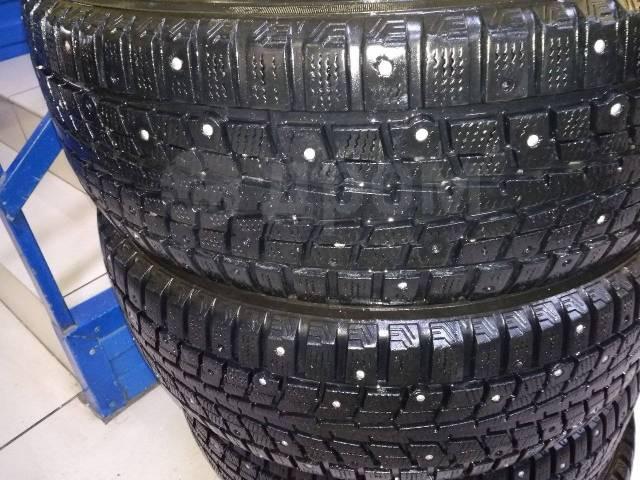 Dunlop SP Winter ICE 01. Зимние, шипованные, 2014 год, 10%, 4 шт