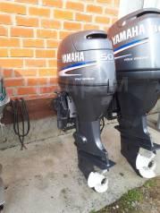 Yamaha. 50,00л.с., 4-тактный, бензиновый, нога L (508 мм), 2005 год год