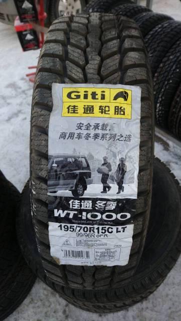 GT Radial Maxmiler WT-1000. Зимние, без шипов, 2014 год, без износа, 4 шт