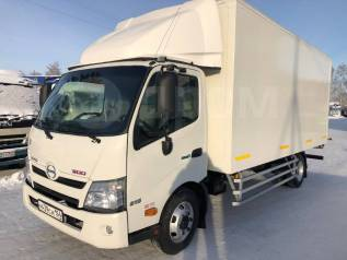 Hino. Изотермический фургон 300 2012г, 4 000куб. см., 4 000кг., 4x2