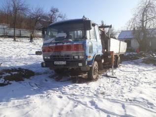 Nissan Diesel Condor. Продам грузовик с манипулятором. оптом или по запчастям, 6 900куб. см., 4x2
