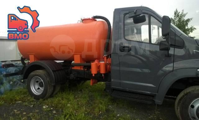 ГАЗ ГАЗон Next C41R13. ГАЗ-C41R13 NEXT ЕВРО-5 Вакуумная Цистерна-Ассенизатор 3,75-4,3М3, 4 430куб. см.