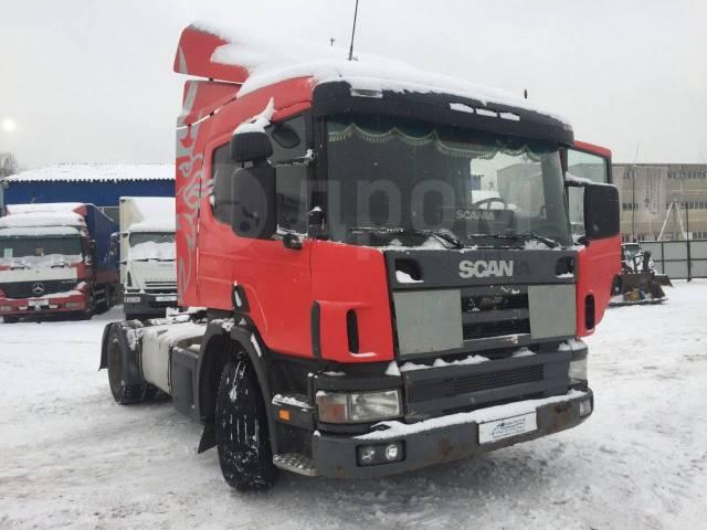 Scania P114. Седельный тягач GA4X2NA 340. Год выпуска 2005. ДВС: рядный, 4x2