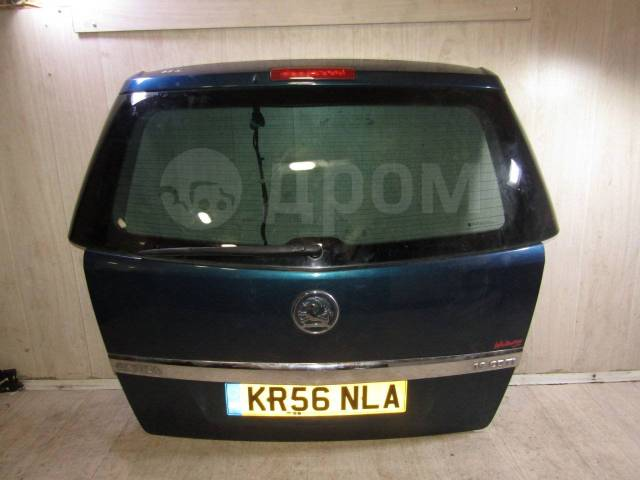 Крышка багажника. Opel Zafira