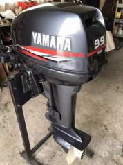 Yamaha. 9,90л.с., 2-тактный, нога S (381 мм), 2002 год год