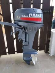 Yamaha. 15,00л.с., 2-тактный, бензиновый, нога S (381 мм), 2017 год год