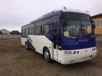 Hyundai Aero Town. Продаю автобус, 33 места, С маршрутом, работой