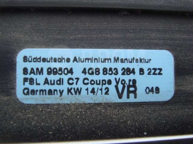 Уплотнитель двери. Audi A7, 4GF Двигатели: CDUD, CPNB, CREC, CREH, CRTC, CRTD, CRTE, CRTF, CTBC, CTCB, CTCC, CTGE, CVPA, CVUA, CVUB, CYGA, CYNB, CYPA...