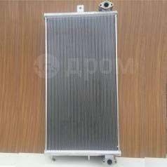 Радиатор охлаждения двигателя. Komatsu PC400-7
