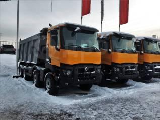 Renault. Новые самосвалы K-440 8x4, 13 000куб. см., 26 000кг., 8x4