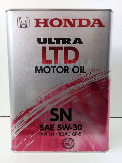4884daa1f5e2176 Масло Honda Ultra LTD 5W-30 SN (4L) ОПТ - Моторные масла в Новосибирске