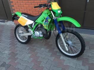 Kawasaki KDX 220SR. 220куб. см., исправен, птс, без пробега