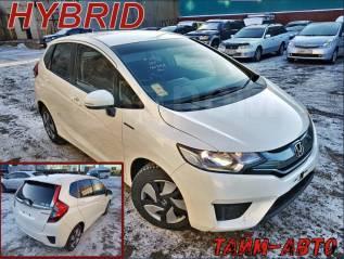Honda Fit Hybrid. Без водителя