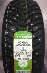 Nokian Hakkapeliitta 8. Зимние, шипованные, 2014 год, без износа, 4 шт