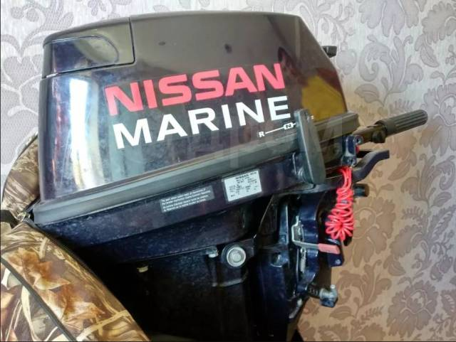 18 л с nissan marine