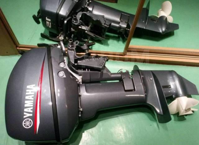 Yamaha. 15,00л.с., 2-тактный, бензиновый, нога S (381 мм), 2011 год