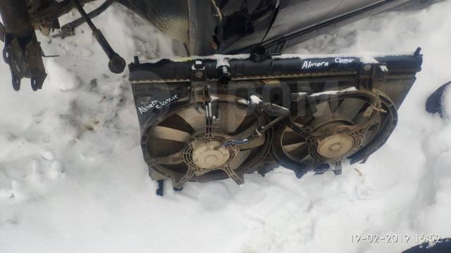 Радиатор охлаждения двигателя. Nissan Almera Classic Nissan Almera, B10RS Двигатель QG16