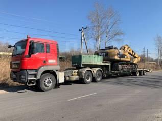 Аренда трала 55 тонн. Город, межгород