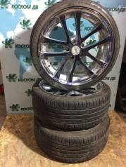 "Диски WORK Kranze LXZ521EVO с резиной Kinforest 235/35ZR19. 8.5x19"" 5x114.30 ET44"