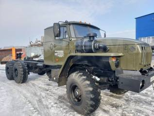 Урал. шасси пробег 30 тыс км, 11 500куб. см., 12 000кг., 6x6