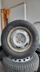 """Комплект колес отбалансированных накачанных продам. Стояли на Жигулях,. 13.0x13"""" 4x98.00 ET-65 ЦО 52,0мм."""