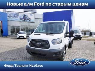 Ford Transit. Бортовая платформа с тентом 350М, 2 200куб. см., 1 000кг., 6x2
