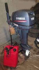 Yamaha. 15,00л.с., 2-тактный, бензиновый, нога S (381 мм), 2010 год