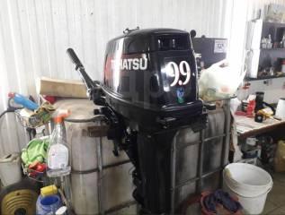 Tohatsu. 9,90л.с., 2-тактный, бензиновый, нога S (381 мм), 2014 год