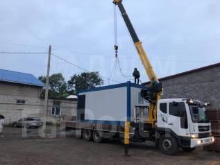 Грузоперевозки 12 тонн, манипулятор 7 тонн, борт 9 метров.