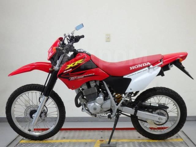 мотоцикл Honda Xr250 Tornado из японии без пробега в рф Honda Xr