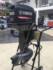 Yamaha. 30,00л.с., 2-тактный, бензиновый, нога S (381 мм), 2019 год