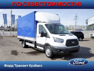 Ford Transit. Бортовая платформа с тентом, 2 200куб. см., 2 200кг., 4x2