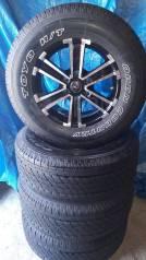 """Продам комплект колёс на Prado, Pajero. 7.5x17"""" 6x139.70 ET25"""