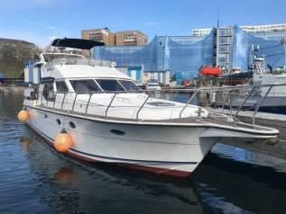 Аренда катера, яхты, Trawler 50 футов, (16.5 м) Владивосток. 20 человек, 25км/ч