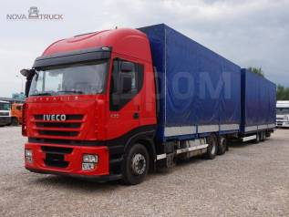Iveco Stralis. Автопоезд Iveco + Krone, 10 308куб. см., 15 520кг., 6x2