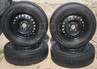 """Комплект колёс BridgeStone на дисках Nissan. 6.5x16"""" 5x114.30 ET42 ЦО 66,6мм."""
