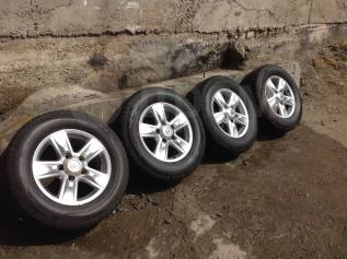 """Новый комплект колёс для тлк200. 8.0x18"""" 5x150.00 ET60 ЦО 110,1мм."""