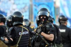 Полицейский боец ОМОН Уссурийск