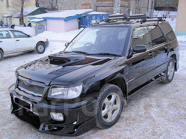 Спойлер. Subaru Forester, SF5