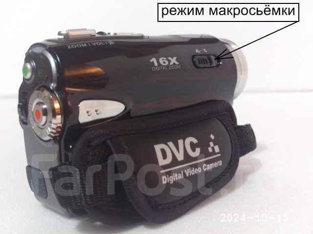 """Видеокамера sony цифровая 16мп, 3"""" сенсорный экран, 16 крат Цифровой"""