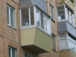 Отделка балконов.