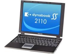 "Toshiba Dynabook SS. 12"", 1,1ГГц, ОЗУ 512 Мб, диск 40 Гб, WiFi"